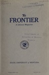 The Frontier, November 1922