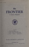 The Frontier, November 1924 by Harold G. Merriam