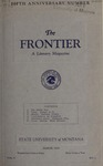 The Frontier, March 1925 by Harold G. Merriam
