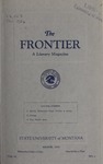 The Frontier, March 1926 by Harold G. Merriam