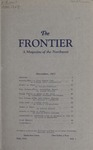 The Frontier, November 1927 by Harold G. Merriam