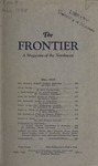 The Frontier, May 1928 by Harold G. Merriam