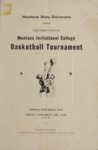 Grizzly Basketball Game Day Program, December 14-15, 1945