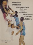 Grizzly Basketball Game Day Program, December 28-31, 1973 by University of Montana—Missoula. Athletics Department