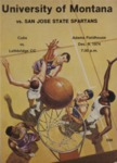Grizzly Basketball Game Day Program, December 9, 1974 by University of Montana—Missoula. Athletics Department
