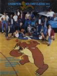 Grizzly Basketball Game Day Program, December 12-13, 1986 by University of Montana—Missoula. Athletics Department