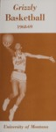 Grizzly Basketball Yearbook, 1968-1969