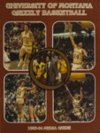 Grizzly Basketball Yearbook, 1983-1984 by University of Montana—Missoula. Athletics Department