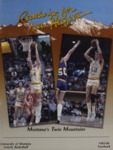 Grizzly Basketball Yearbook, 1985-1986