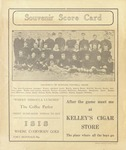 Grizzly Football Game Day Program, 1914