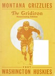 Grizzly Football Game Day Program, October 14-15, 1927