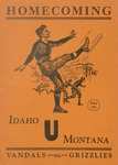 Grizzly Football Game Day Program, November 17, 1928