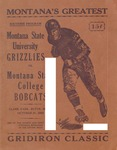 Grizzly Football Game Day Program, October 21, 1933