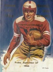 Grizzly Football Game Day Program, September 27, 1946