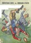Grizzly Football Game Day Program, October 28, 1950