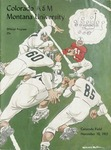 Grizzly Football Game Day Program, November 10, 1951 by University of Montana—Missoula. Athletics Department