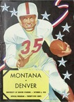 Grizzly Football Game Day Program, October 6, 1951 by University of Montana—Missoula. Athletics Department