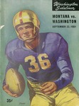 Grizzly Football Game Day Program, September 22, 1951 by University of Montana—Missoula. Athletics Department