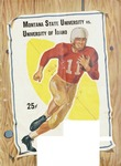 Grizzly Football Game Day Program, November 8, 1952
