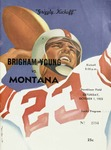 Grizzly Football Game Day Program, October 1, 1955 by University of Montana—Missoula. Athletics Department