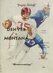 Grizzly Football Game Day Program, October 8, 1955