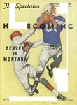 Grizzly Football Game Day Program, October 12, 1957 by University of Montana—Missoula. Athletics Department