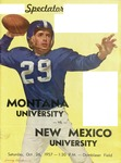 Grizzly Football Game Day Program, October 26, 1957 by University of Montana—Missoula. Athletics Department