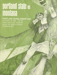Grizzly Football Game Day Program, October 25, 1969 by University of Montana—Missoula. Athletics Department