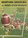 Grizzly Football Game Day Program, October 5, 1974 by University of Montana—Missoula. Athletics Department