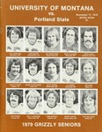 Grizzly Football Game Day Program, November 17, 1979 by University of Montana—Missoula. Athletics Department