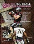 Grizzly Football Game Day Program, October 13, 2012 by University of Montana—Missoula. Athletics Department