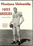 1952 Grizzly Football Yearbook