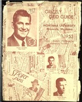 1953 Grizzly Football Yearbook