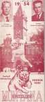 1954 Grizzly Football Yearbook