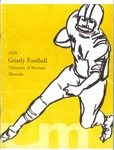 1970 Grizzly Football Yearbook