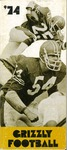 1974 Grizzly Football Yearbook