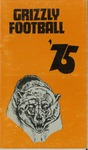1975 Grizzly Football Yearbook