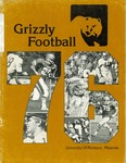 1976 Grizzly Football Yearbook