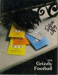 1978 Grizzly Football Yearbook