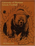 1982 Grizzly Football Yearbook