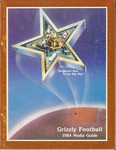 1984 Grizzly Football Yearbook