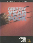 1985 Grizzly Football Yearbook