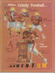 1990 Grizzly Football Yearbook