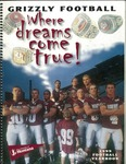1999 Grizzly Football Yearbook