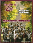 2007 Grizzly Football Yearbook by University of Montana—Missoula. Athletics Department