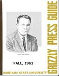 1963 Grizzly Football Yearbook