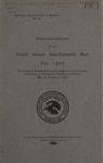 Interscholastic Meet Announcement, 1907 by University of Montana (Missoula, Mont.: 1893-1913). Interscholastic Committee