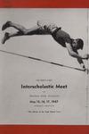 Interscholastic Meet Announcement, 1947 by Montana State University (Missoula, Mont.). Interscholastic Committee
