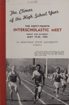 Interscholastic Meet Announcement, 1950