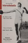 Interscholastic Meet Announcement, 1952